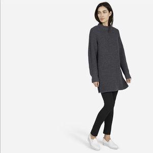 EVERLANE Waffle Knit Grey Sweater Dress / Tunic